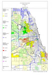 Racial Map Of Chicago by Chicago 1990 Census Maps