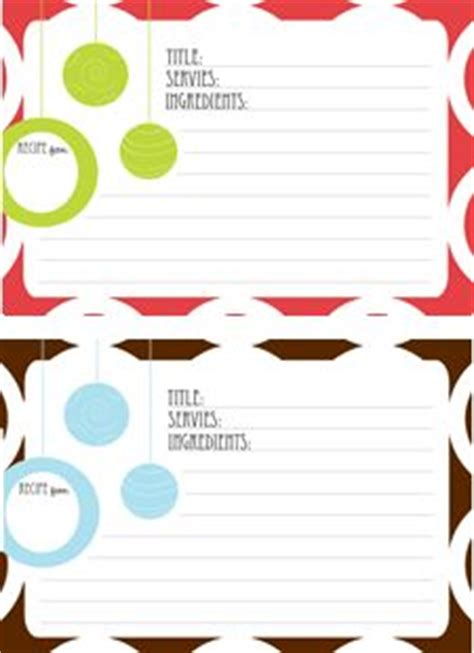 printable holiday recipes free printables thank you cards gift tags christmas