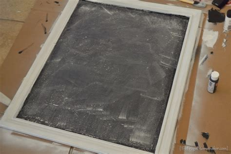 diy chalkboard picture frame how to make a diy chalkboard from an picture frame