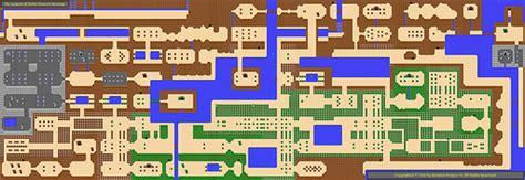 legend of zelda overworld map overworld map of the legend of zelda ganon s revenge