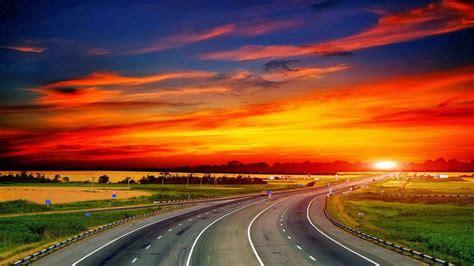 wallpaper pemandangan alam hd wallpaper sunset hd blog