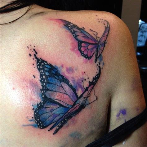 watercolor tattoo parlor best 25 watercolor butterfly ideas on