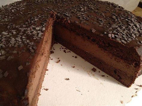 nutella schoko kuchen schoko kuchen mit nutella sahne f 252 llung