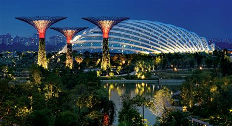 the flower dome gardens by the bay singapore the