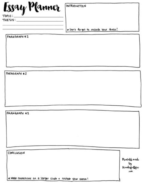 essay planner tumblr