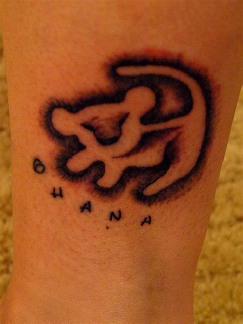 simba tattoos and ohana tattoos tattoos pinterest