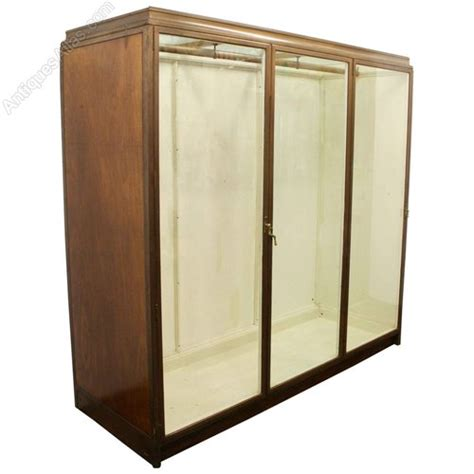 How Many Departments Are In The Cabinet Ex Jenners Bronze 3 Door Display Cabinet Antiques Atlas