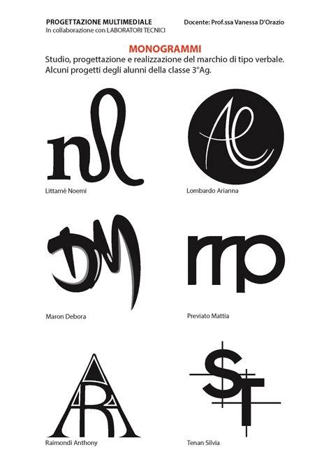 monogramma lettere una pioggia di monogrammi deamicislab