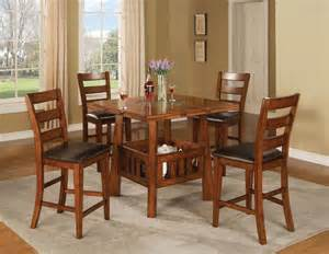 counter height dining room table sets rustic square counter height dining room table set with