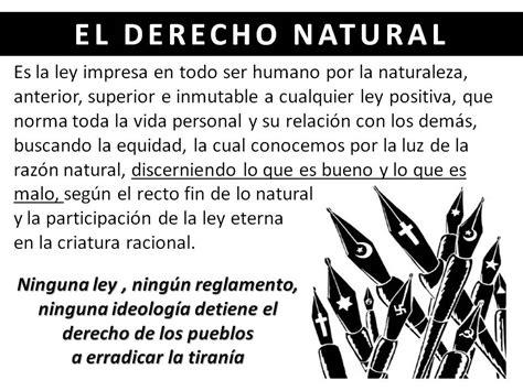 derecho natural venezuelavetada el derecho natural