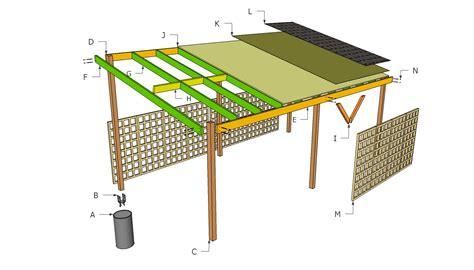 carport building plans home ideas