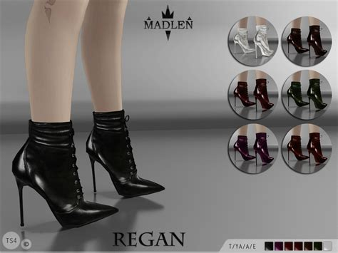 7 Gorgeous Pairs Of Lace Up Boots by Sims 4 Fashion