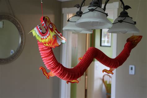 dragon decorations for a home easy vegetable lo mein and pork eggrolls the gourmand mom
