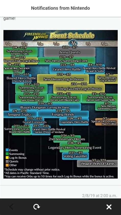 event calendar february fireemblemheroes