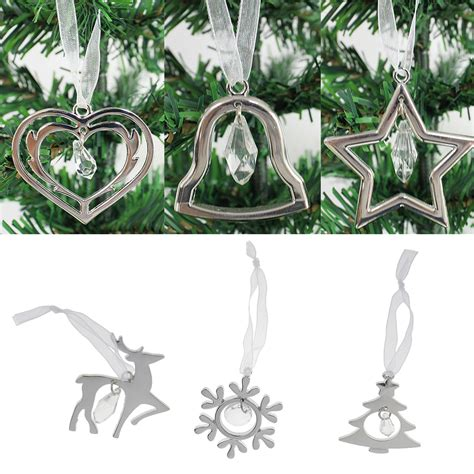 diy tree ribbon decorations silver alloy hanging ornament with ribbon diy home tree decorations tree