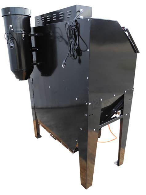 blast cabinet glass new redline re48cs abrasive sand blasting blaster blast