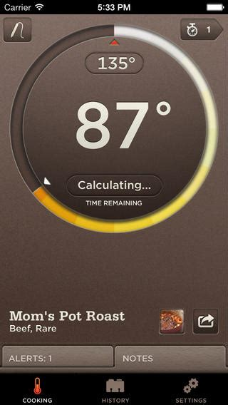 Termometer Uap williams sonoma smart thermometer on the app store