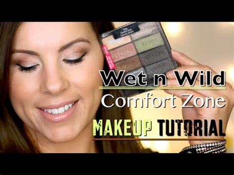 wet n wild comfort zone tutorial wet n wild comfort zone makeup tutorial youtube