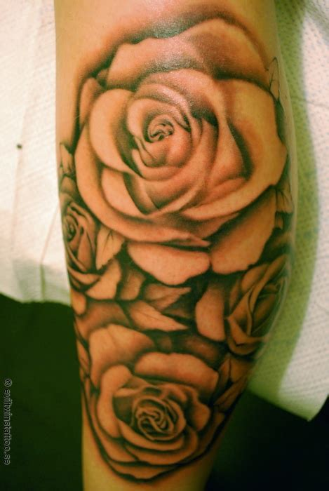 big rose tattoo shaded roses big planet community forum