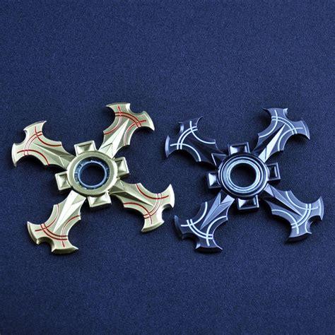 Fidget Spinner X Tri Suriken shuriken dart fidget spinner rotary tri spinner
