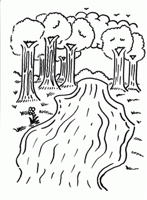 free coloring page of a river pinterest the world s catalog of ideas