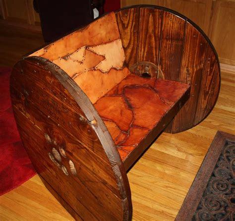 Reel Rocker Chair By David Meddings Design by Spool Chair Design