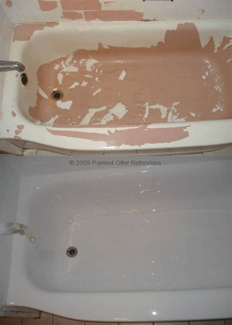 bathtub resurfacing diy testimonials 171 bathtub refinishing tile reglazing sinks counter tops the painted otter