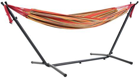 free standing hammock free standing hammock large multi colour orange