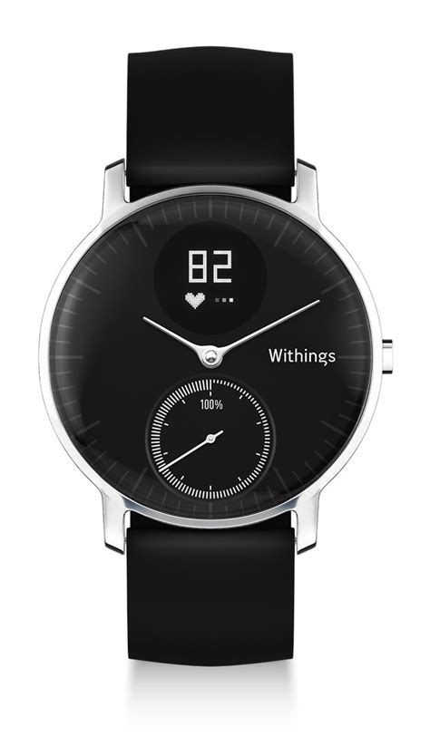 withings steel hr  worlds  analog smartwatch