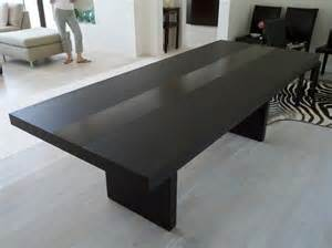 Dining Room Tables Modern by Simple Modern Furniture Featuring With Black Stained