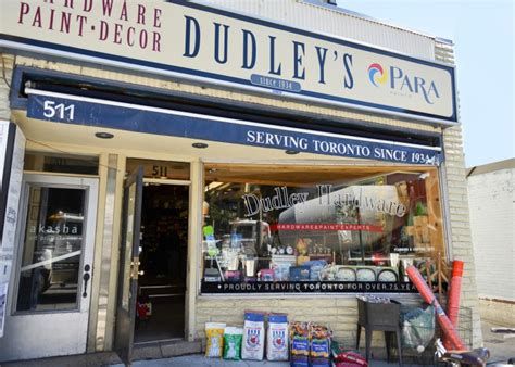 dudley hardware toronto business story