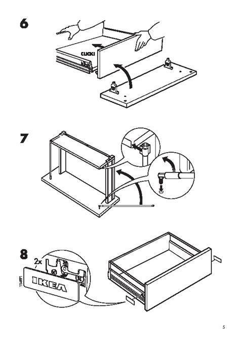 Montage Tiroir Ikea by D 233 Monter Une Porte Fa 231 Ade De Tiroir Rationnell Ikea
