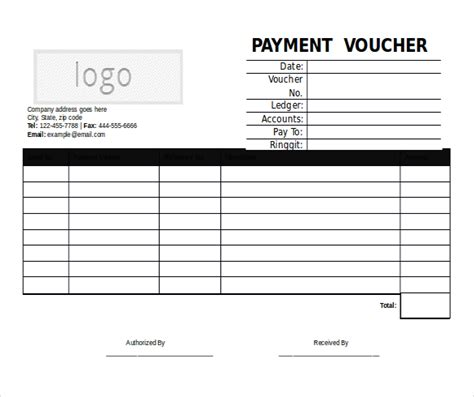 receipt voucher template word 18 microsoft word format voucher templates free