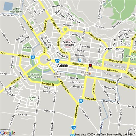 Search Nsw Map Of Griffith Nsw Hotels Accommodation