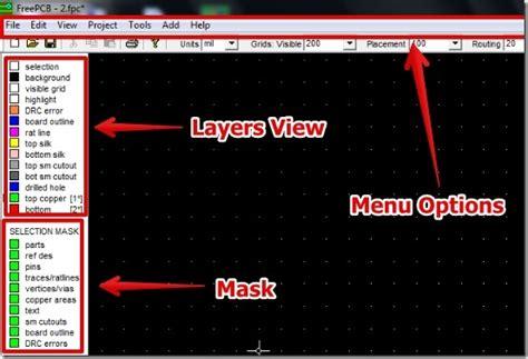 free pcb layout software windows free pcb design software freepcb