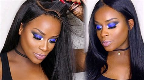 how to make front of wig look like porsha williams beginners lace front wig making step by step tutorial