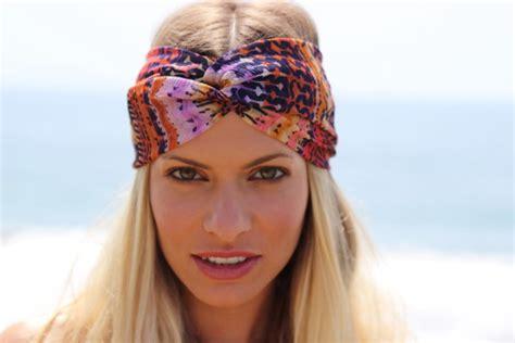 hairstyles with scarf headbands scarf headband turband turban blonde hair girl