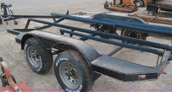 bass boat trailer road runner 18 bass boat trailer item e7562 sold may