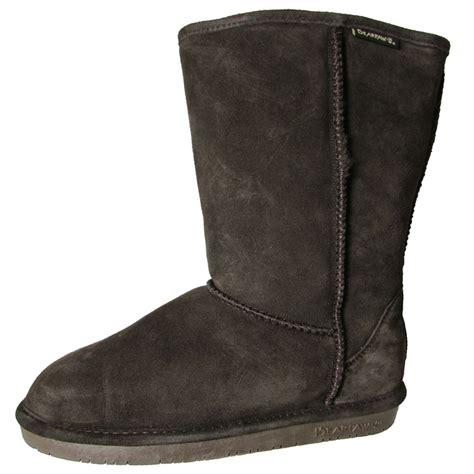 bearpaw womens boots bearpaw womens 10 inch suede sheepskin boot shoe ebay