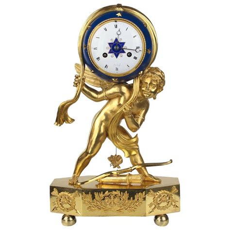 unique table clock quot cupid as a ruler of the universe