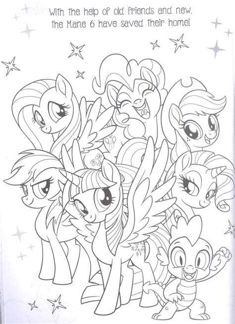 my little pony mane six coloring pages mlp coloring pages mane 6 bltidm