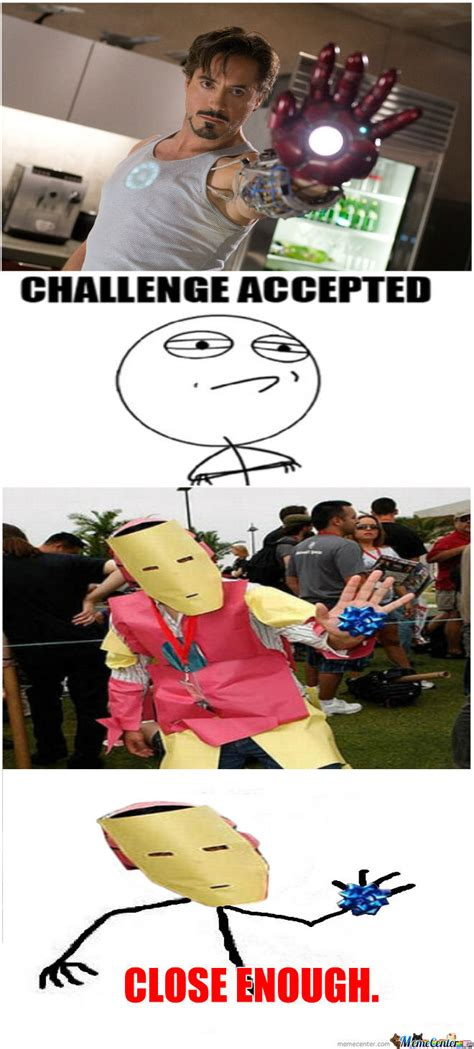 iron challenges iron challenge by unknownjedi meme center