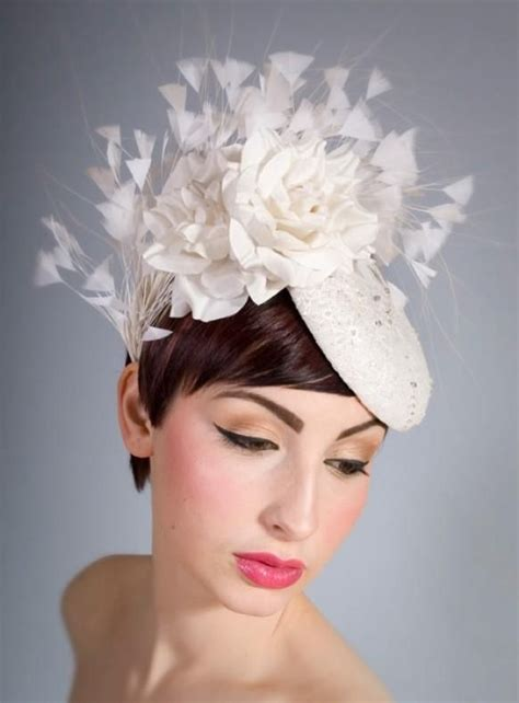Hairstyles With Hats For Weddings   Hair