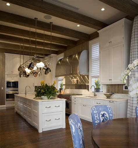 Kitchen Ceilings With Beams by Sloped Kitchen Ceiling With Wood Beams Design Ideas