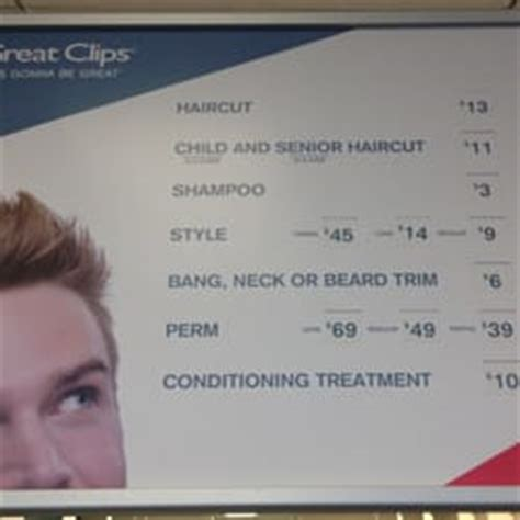 great clips prices great clips prices