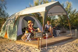 Posh Interiors gear services amenities make camping easier than ever