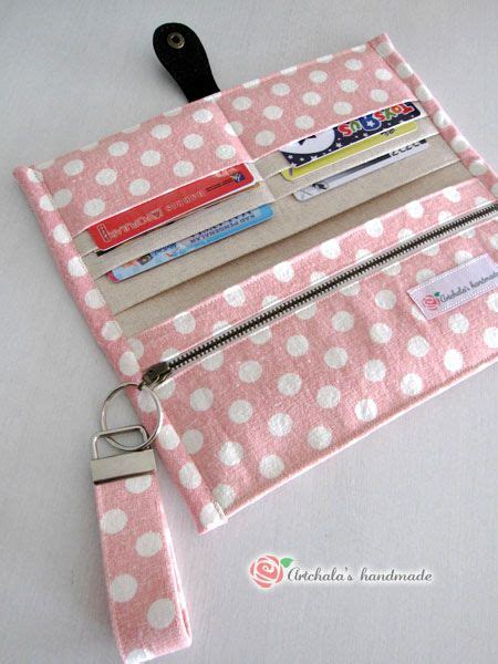 tutorial wallet fabric fabric wallet sewing pinterest