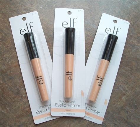 E L F Shadow Lock Eyelid Primer 3x e l f shadow lock eyelid primer base 21711 sheer eye