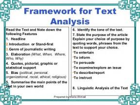 Exles Of Text Analysis Essay by Part 3 Text Analysis Response