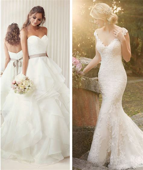 a showcase most beautiful wedding dresses